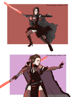 Dark Side Rey #1 by yennMisakato