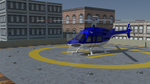 My Bell 407 helicopter by fev-rocks