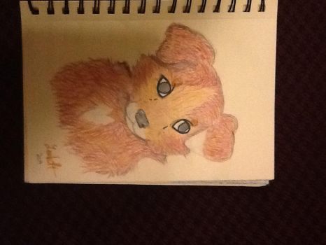 Dog i drew and colored. by NeonCandyLights