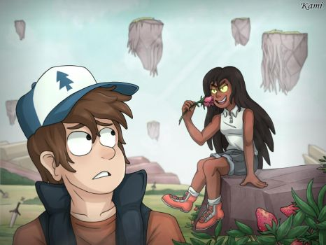 [Commission] Dipper and Bonnie by KamiSulit