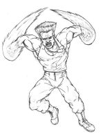 Guile SF by EvilHayato