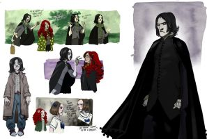 Deathly hallows characters 3 by Sally-Avernier