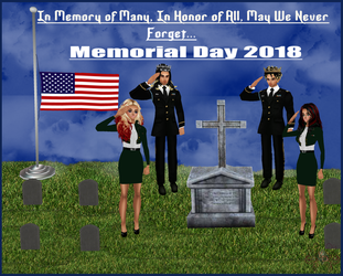 Memorial Day 2018 by KiaraDiMari