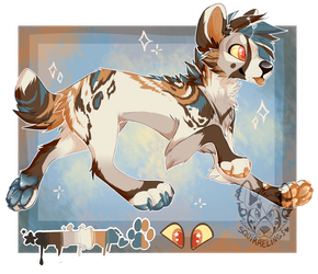 African Wild Dog OTA ! //CLOSED !! by Squirrelings