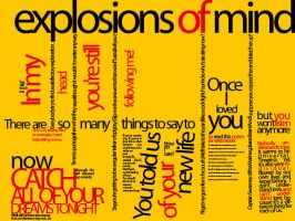 Explosions Of Mind by mrgraphicsguy