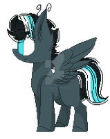 // Greased Lightning - [MLP.Oc.YCH] \\ by TheChoccoBear
