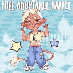 [CLOSED] FREE ADOPT RAFFLE ! by calicommotion