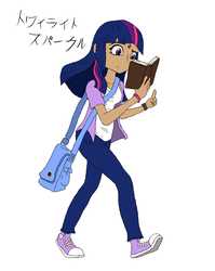 Twilight Sparkle - Anime Design by Sonito1992