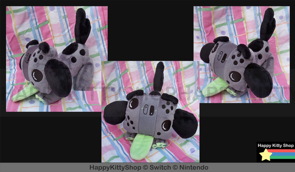 Switch Pup Plush by HappyKittyPlushies