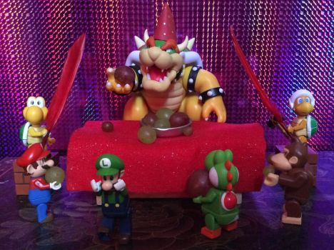 Bowser Party- Fruits of Doom by Iwatchcartoons715