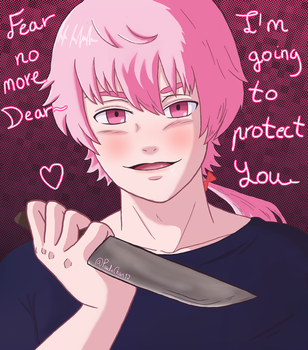 Male Yuno: Fear no more!~ by PaulaChan12