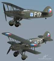 Avia b534 3D model by rOEN911