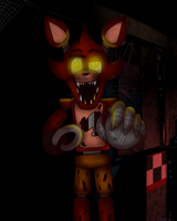 FNAF 1 : Foxy the Pirate by MikaMilaCat