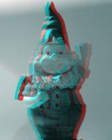 Gnome 3d Experiment by itwirlchucks