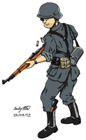 WWII Wehrmacht Soldier by NDTwoFives