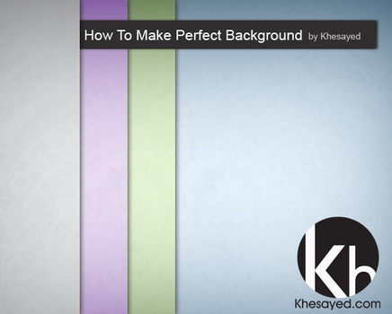 make professional background by ikale