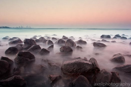 Burleigh Gold Coast by AXNLphotography