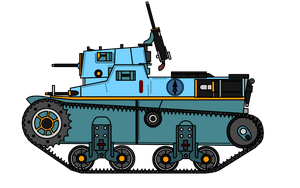 FOX Combat Tankette Light by KirovRampager
