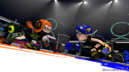 Agents Clash by DeathR34PER
