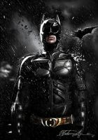 Batman-The Dark Knight Rises (Drawing) by Fallunleashed