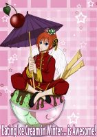Kagura --- Awesome Ice Cream by andungen