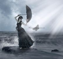 Dancing To The Tune Of Waves by maiarcita