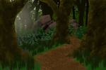 Jungle Scene (Commission Example) by Shadow-Hyder