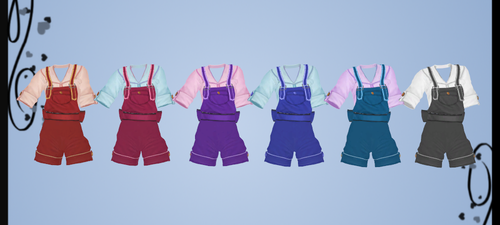 Sailor Overalls DOWNLOAD by Reseliee