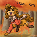 First Day of Autumn by PegasusJedi