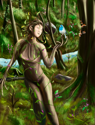 Forest Fairy by FurkanHolmes