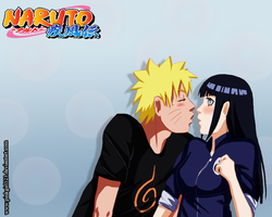 NaruHina : First Kiss by PinkGirl123