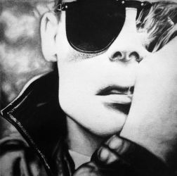 Andrew Eldritch frontman of The Sisters Of Mercy by krazybijoux