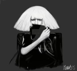 The Fame Monster Speedpaint by bethwhowishes