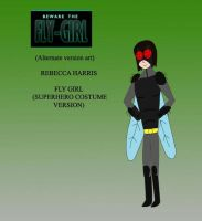 Rebecca Harris Fly Girl  (superhero Costume Ver) by joey2132132
