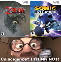 Coincidence I Think Not Meme by Jared-The-Rabbit