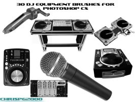 DJ EQUIPMENT BRUSHES by chrispg2000