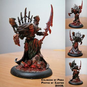 Vampire lord figurine by Zanten
