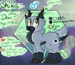 Shika - Ref sheet by Sharkdoggo