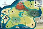 [Squipchi Dragons] - World Map with Town Names by asheds