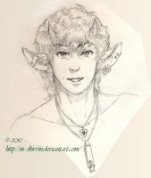 Young Male Satyr by M-Skirvin