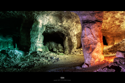 Mars cavern by 911OFFICIAL