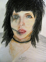 Andy 'Six' Biersack by CailaJoHood
