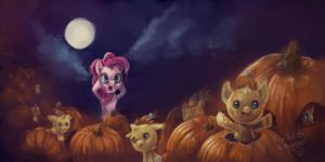 Too many Pumpkins by FoxTailPegasus