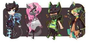 ADOPTABLE SET 2 [AUCTION//CLOSED] by homiboo