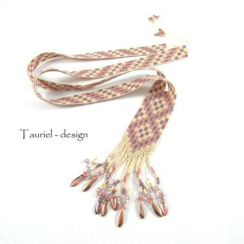 Ethete Beaded native american inspired necklace by Tau-riel