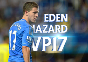 Eden Hazard VP17 by kasbandi