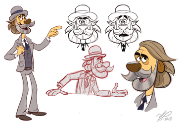 Dr. King Schultz, Disney-fied by VIPiercer
