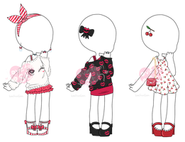 [OPEN - 1 left!] Outfit Adopts by LoveFromEsth