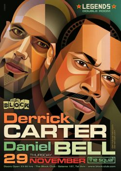 Legends: Derrick Carter + Daniel Bell by prop4g4nd4
