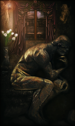 TheThinker by LonnieCorley